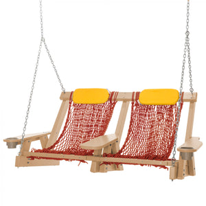 COASTAL ROPE DOUBLE SWING