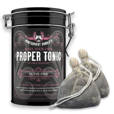 In The Pink Proper Tonic Bags - 2 Bag Gift Caddy