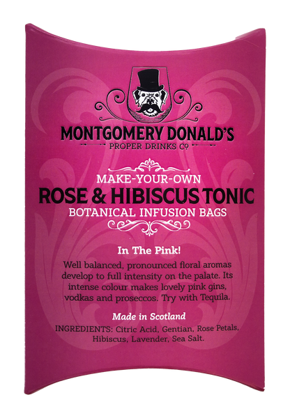 Rose & Hibiscus Tonic