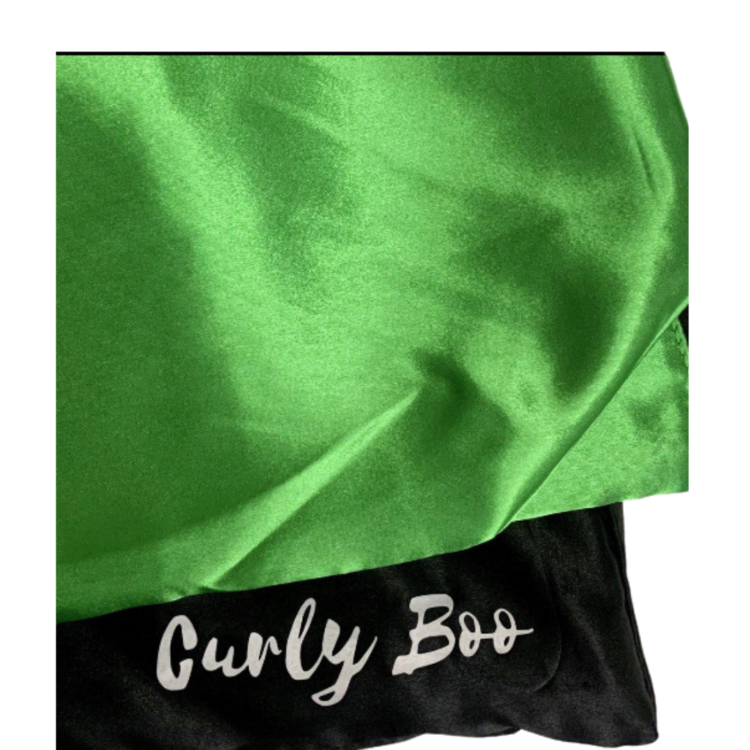 Curly Boo Satin Pillowcase (Large)-Hair care-Curly Boo