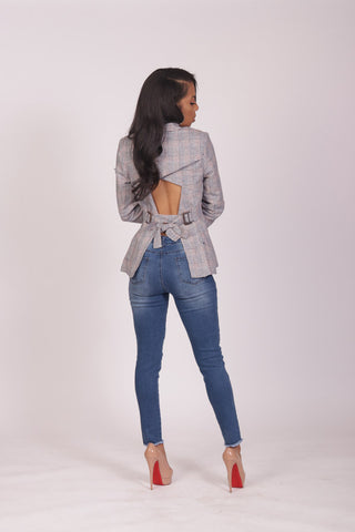 Backed Out Blazer