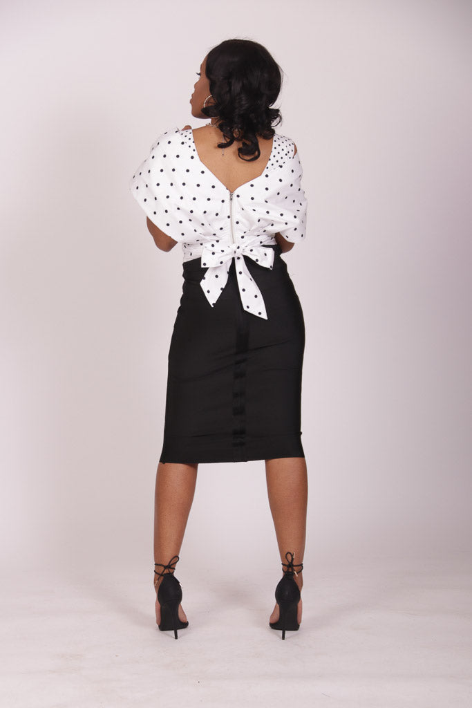 Refined Pencil Skirt