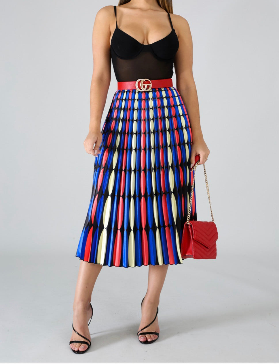 Pleatly Chic Maxi Skirt