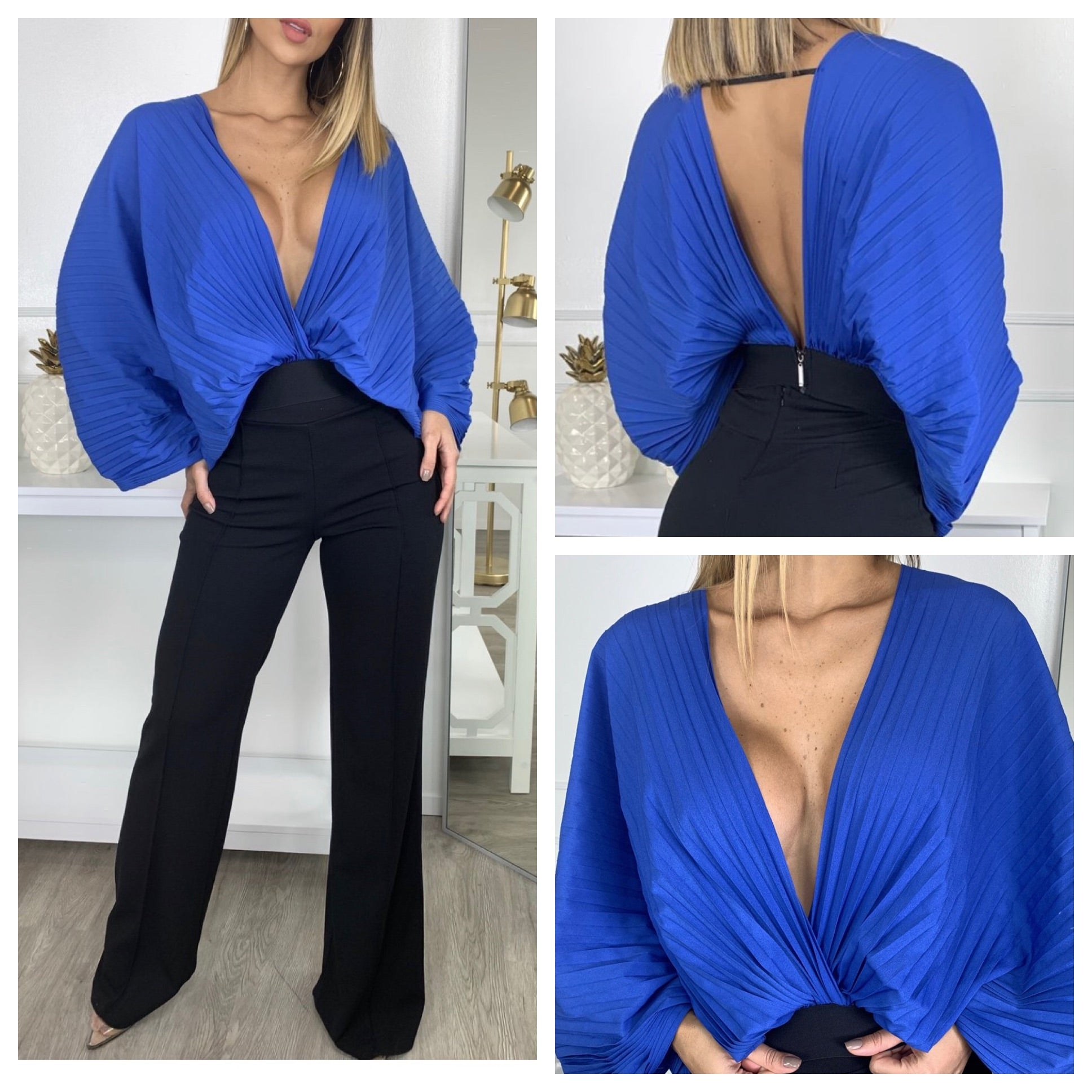 Com-Pleated Top