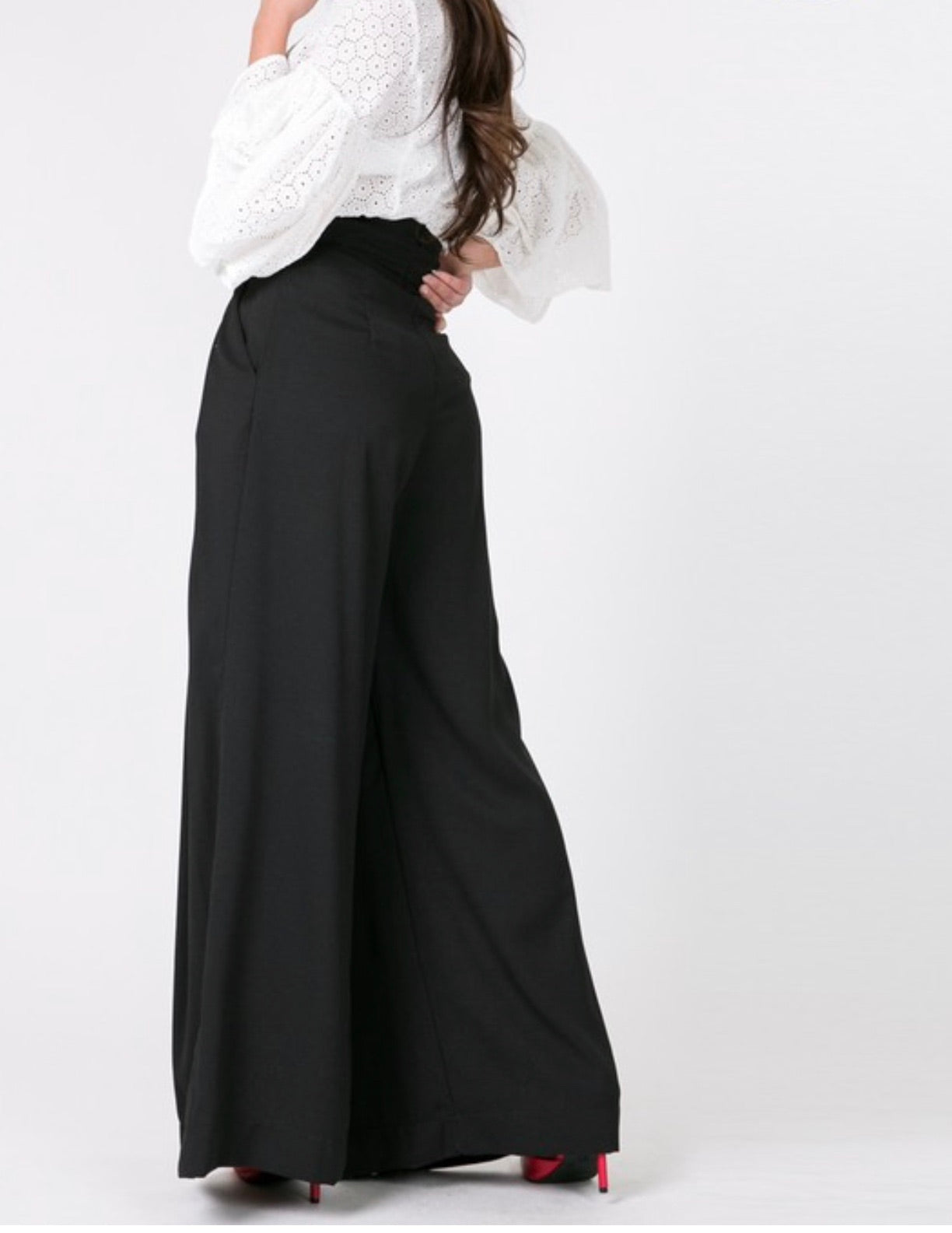 Bell Slacks (Black)