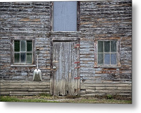 Vermont Chicken Coop 3 - Metal Print