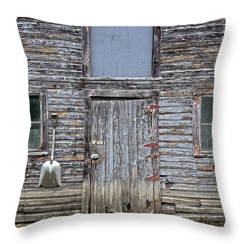 Vermont Chicken Coop 3 - Throw Pillow