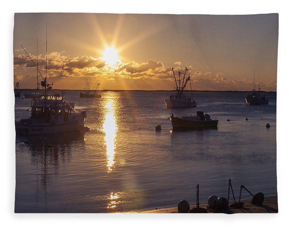 Chatham Sunrise - Blanket