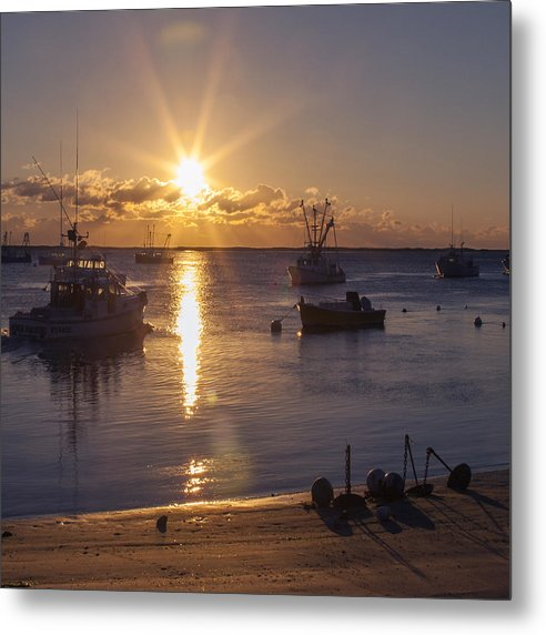Chatham Sunrise - Metal Print