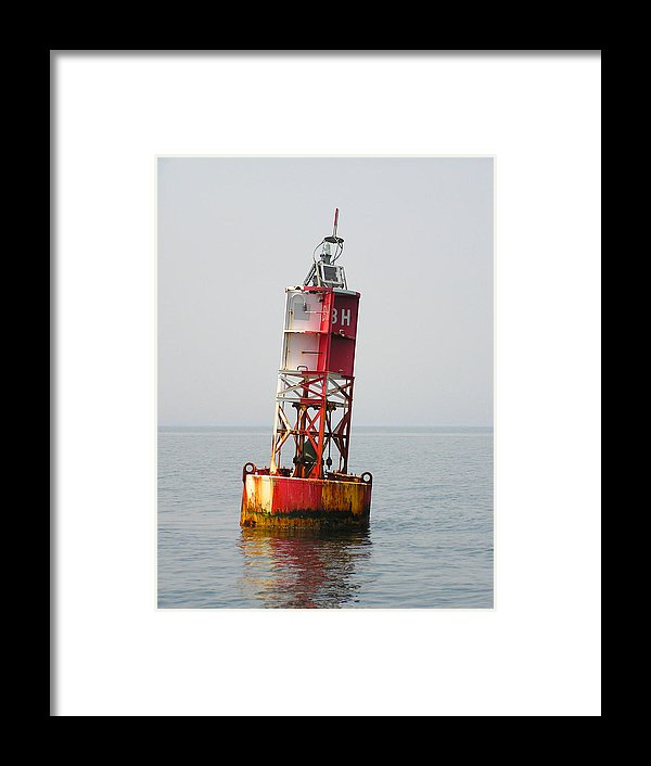 The Bell Buoy - Framed Print