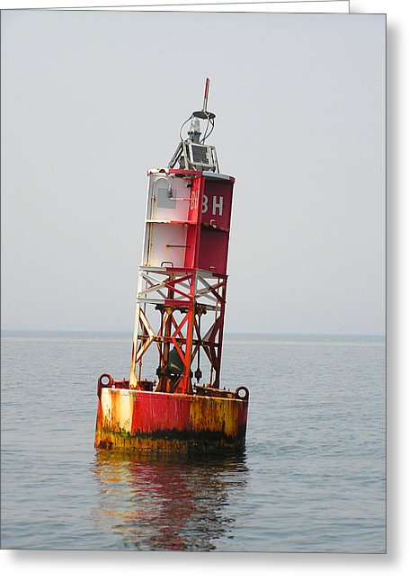 The Bell Buoy - Greeting Card