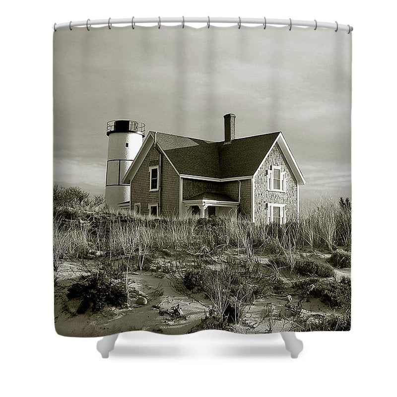 Sandy Neck Lighthouse - Shower Curtain