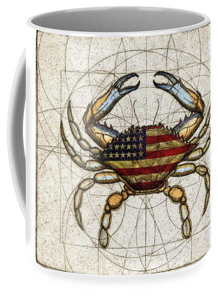 4th Of July Crab - Mug