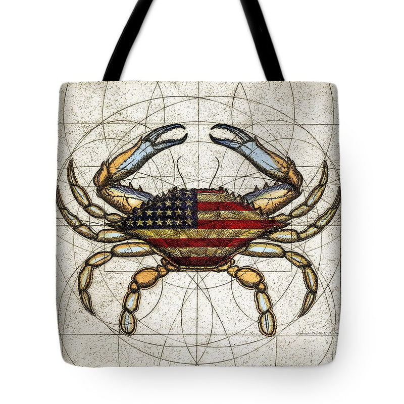 4th Of July Crab - Tote Bag