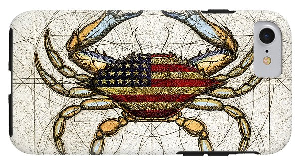 4th Of July Crab - Phone Case