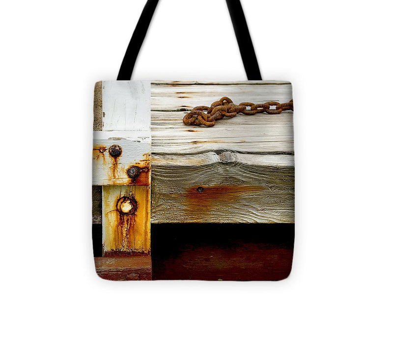 Abstract Old Swim Dock - Tote Bag