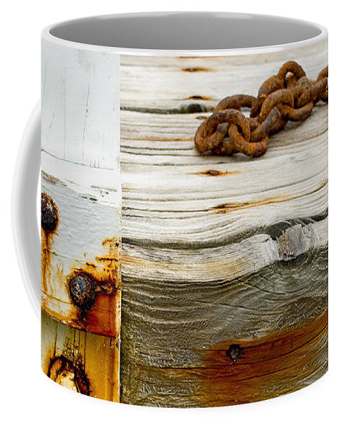 Abstract Old Swim Dock - Mug