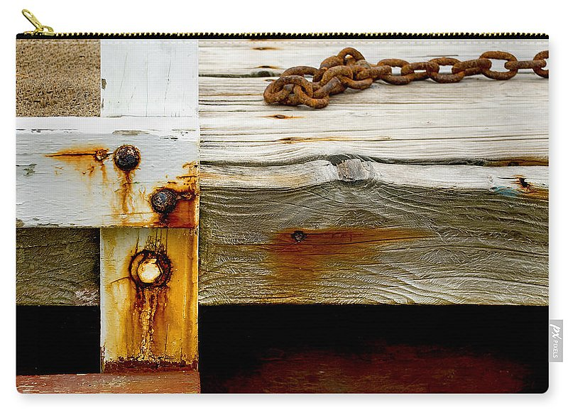 Abstract Old Swim Dock - Carry-All Pouch