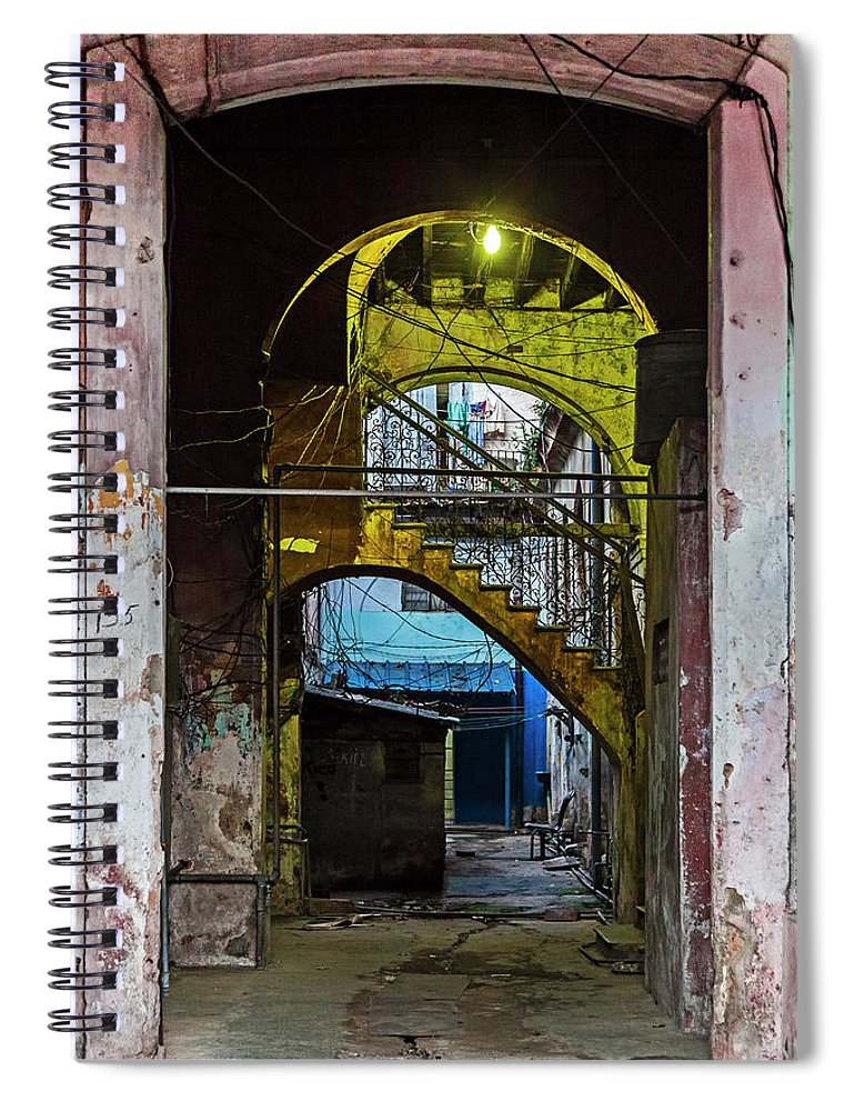 Apartment Entrance Havana Cuba Near Calle C - Spiral Notebook
