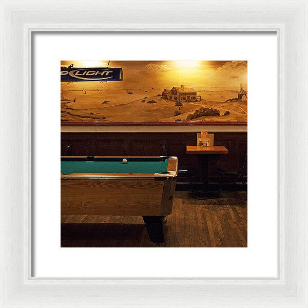 At The Chatham Squire - Framed Print