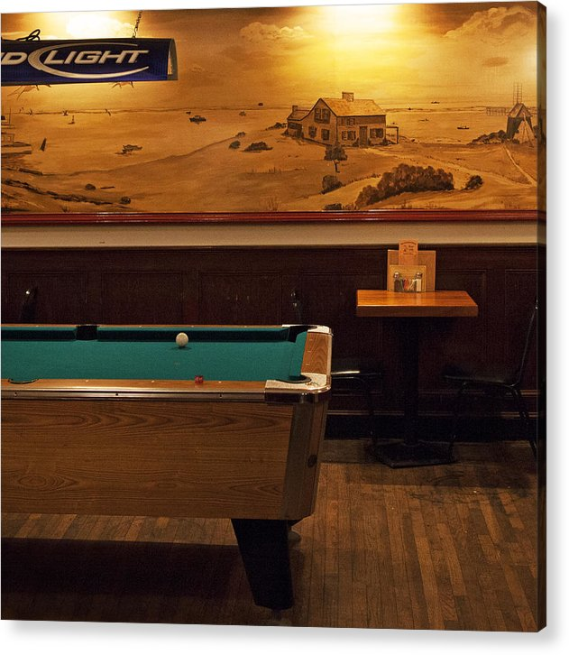 At The Chatham Squire - Acrylic Print