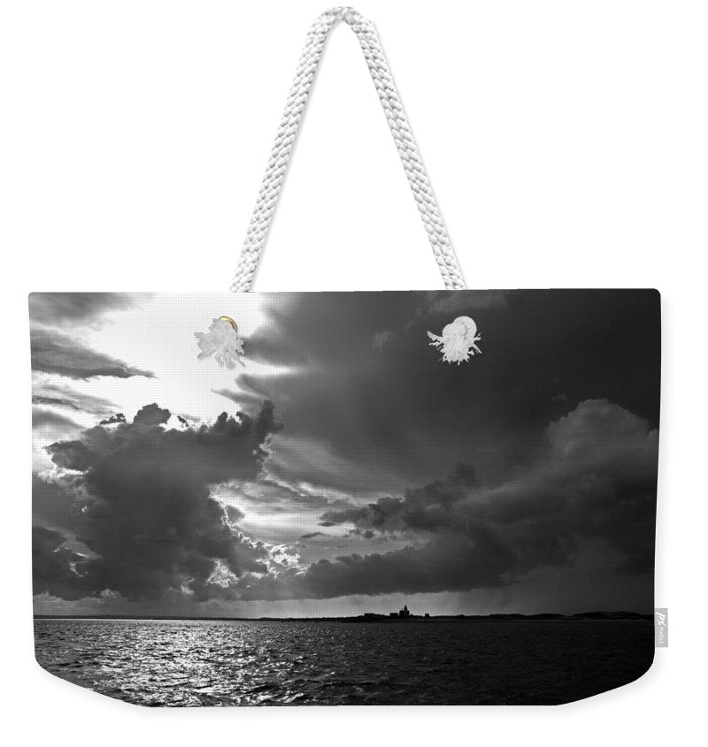 Barnstable Harbor Cloudy Sky - Weekender Tote Bag