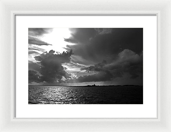 Barnstable Harbor Sky - Framed Print