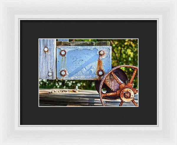 Barnstable Yacht Club Composition - Framed Print