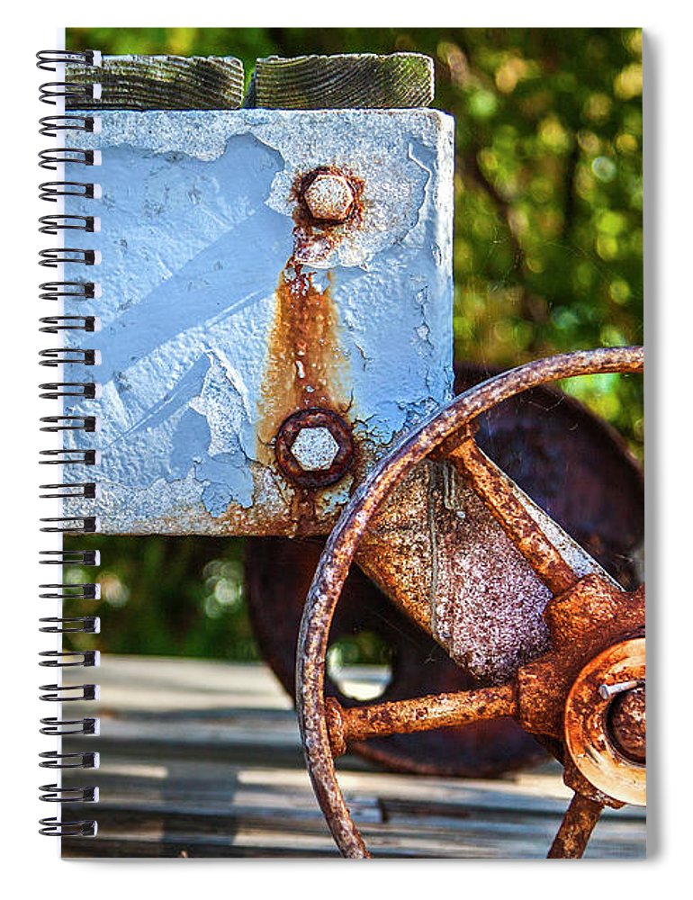 Barnstable Yacht Club Composition - Spiral Notebook