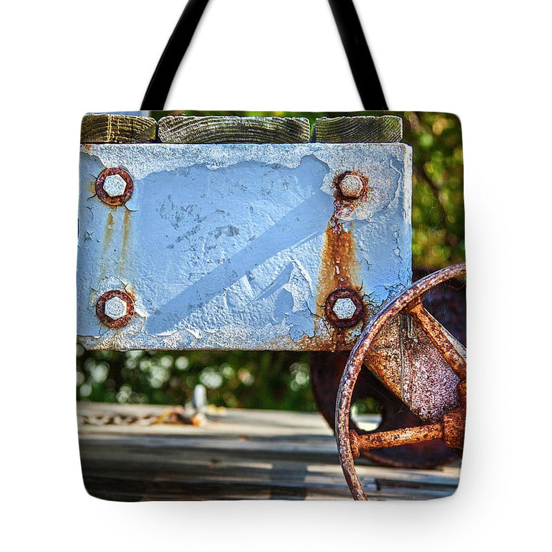Barnstable Yacht Club Composition - Tote Bag