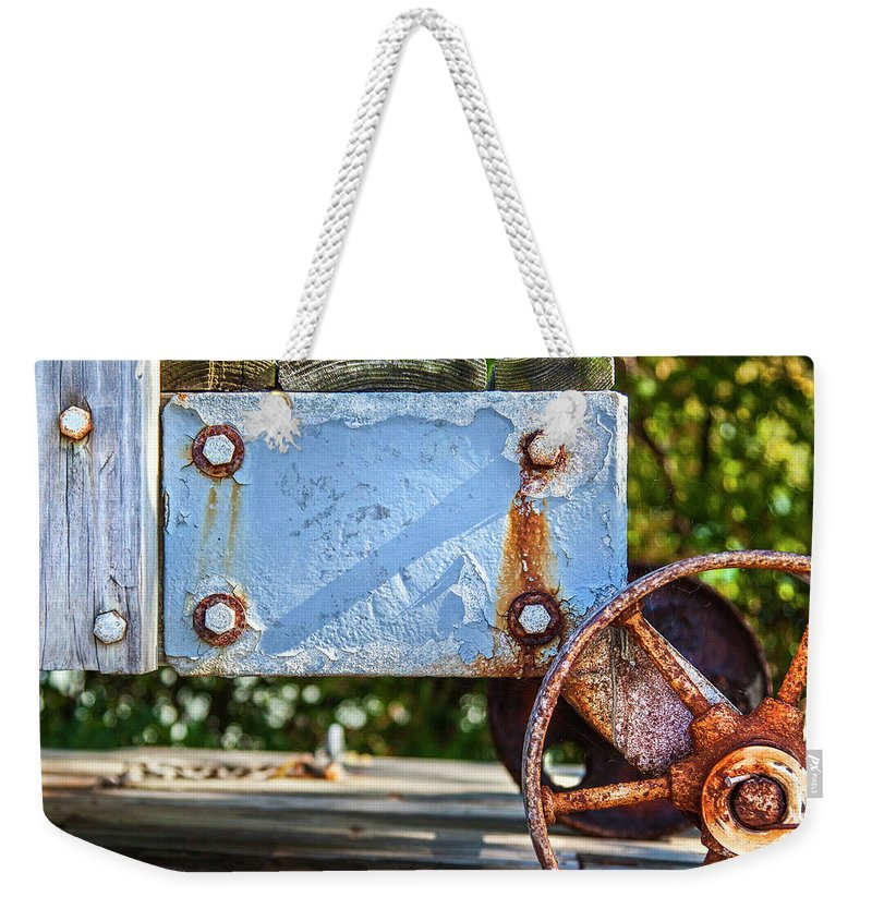 Barnstable Yacht Club Composition - Weekender Tote Bag