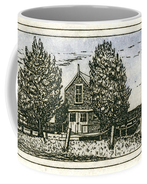 Barnstable Yacht Club Etching - Mug