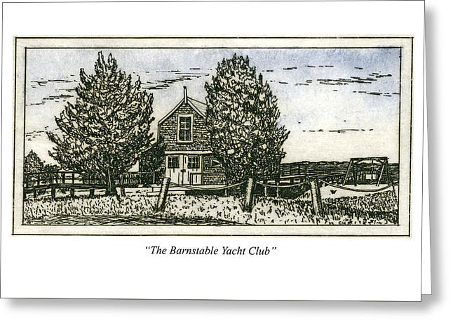 Barnstable Yacht Club - Greeting Card