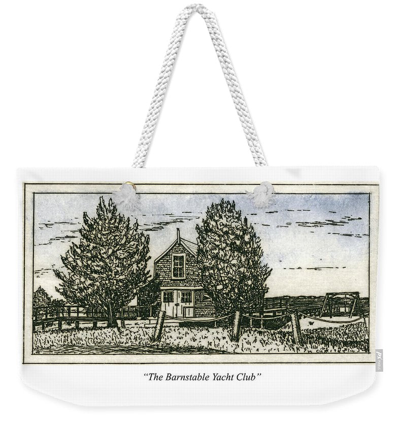 Barnstable Yacht Club Greeting Card - Weekender Tote Bag