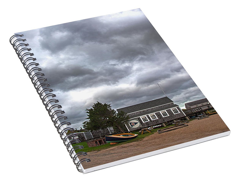 Barnstable Yacht Club October - Spiral Notebook