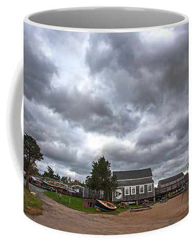 Barnstable Yacht Club Off Season Scene - Mug