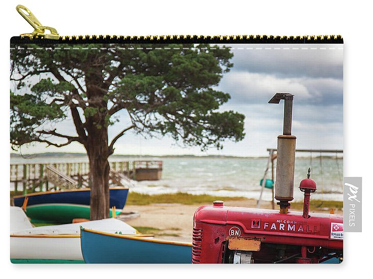 Barnstable Yacht Club Off Season Scene - Carry-All Pouch