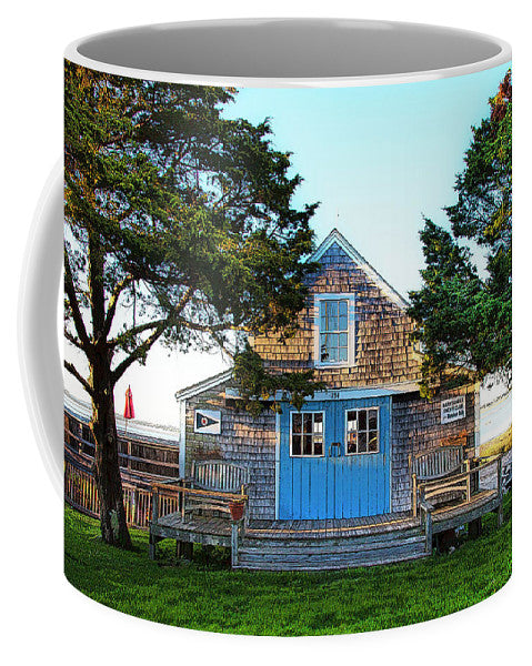 Barnstable Yacht Club Posterized - Mug