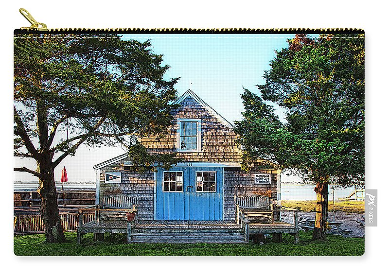 Barnstable Yacht Club Posterized - Carry-All Pouch