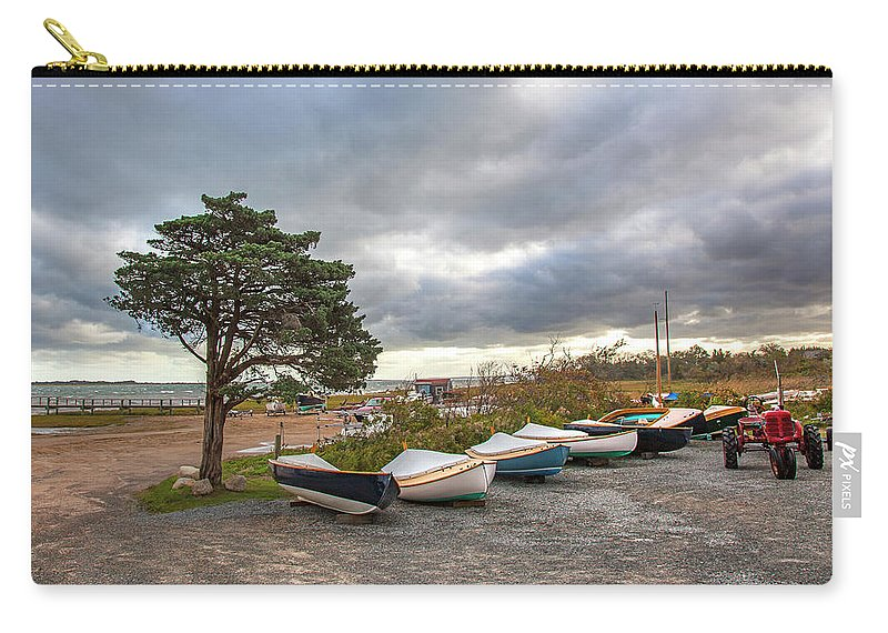 Barnstable Yacht Club Seasons Over - Carry-All Pouch