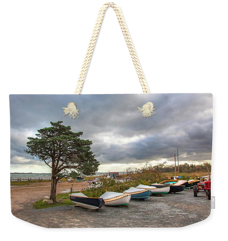 Barnstable Yacht Club Seasons Over - Weekender Tote Bag