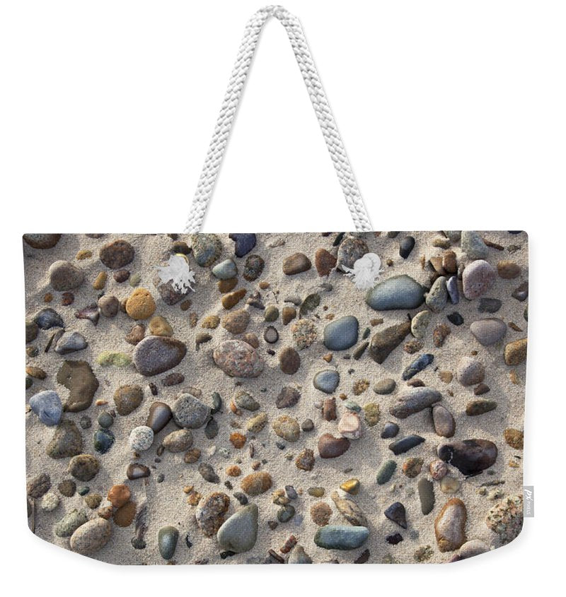 Sand And Beach Stones - Weekender Tote Bag