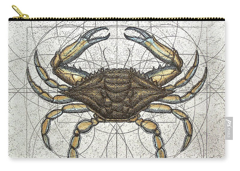 Blue Crab - Carry-All Pouch