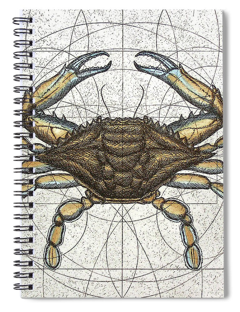 Blue Crab - Spiral Notebook