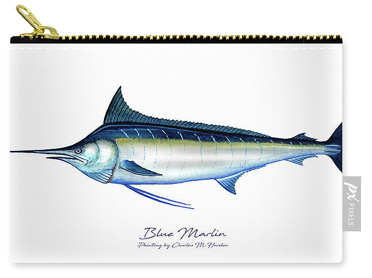 Blue Marlin - Carry-All Pouch