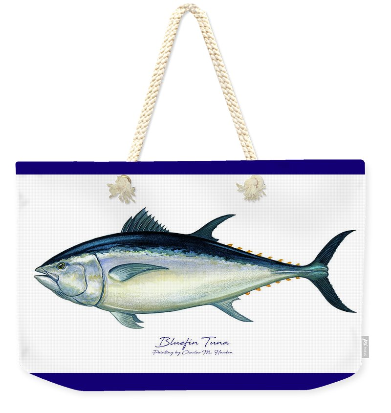 Bluefin Tuna - Weekender Tote Bag