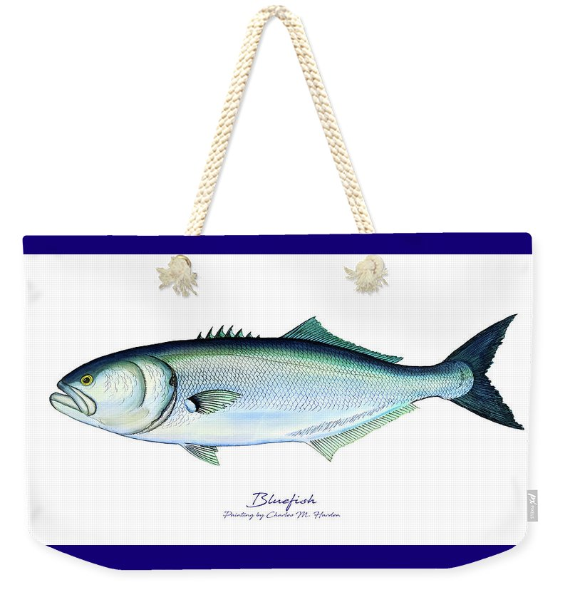 Bluefish - Weekender Tote Bag