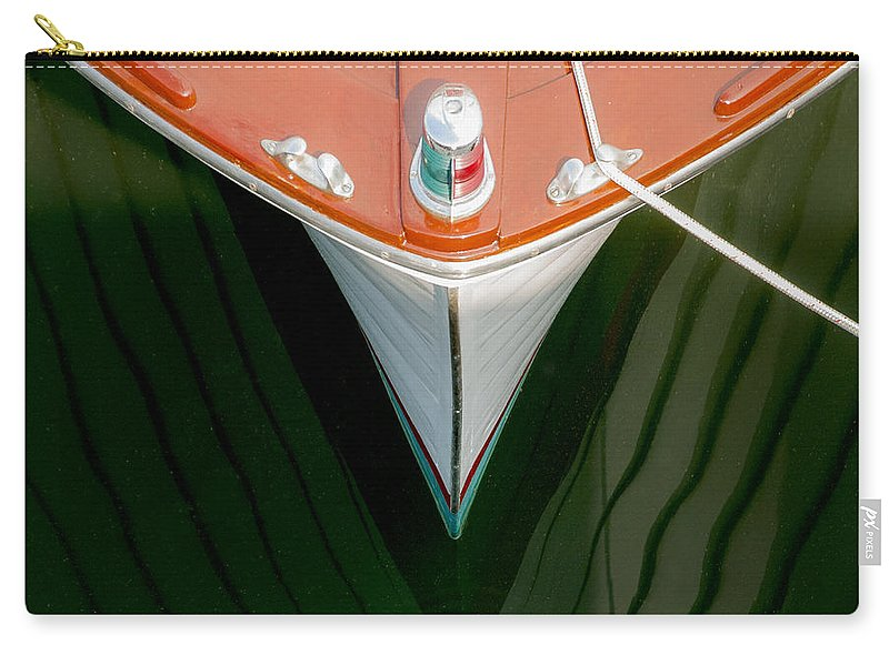 Vintage Boat Mirror Water Reflection - Carry-All Pouch