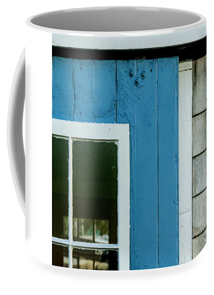 Old Door In Blue - Mug