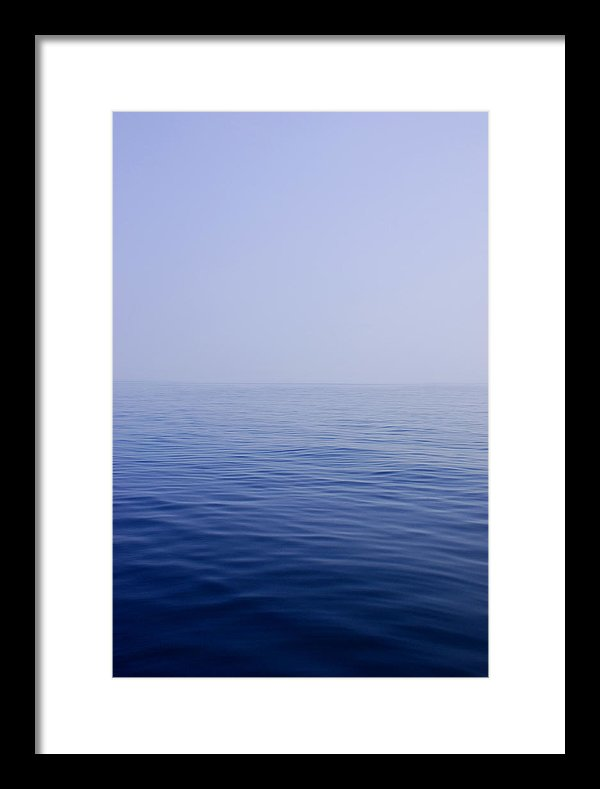 Calm Sea - Framed Print